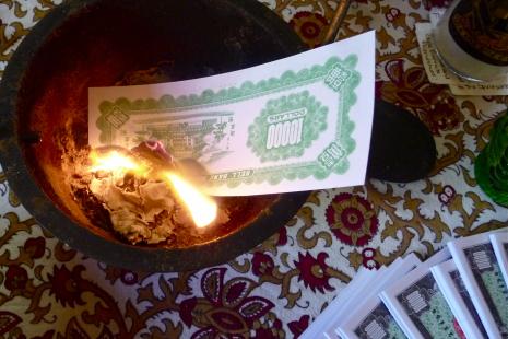 Spirit Money offering by Miss Melinda