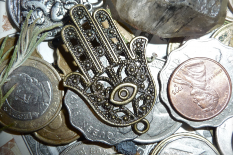 Ancient Hamsa for Fertility & Protection
