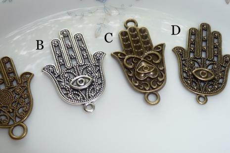 Hand Of Fatima Amulet Against The Evil Eye Miss Melindas