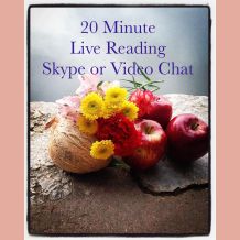 20 minute Skype Reading with Miss Melinda