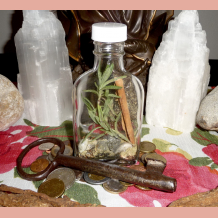 Miss Melinda's Witch Bottle for Money & Prosperity