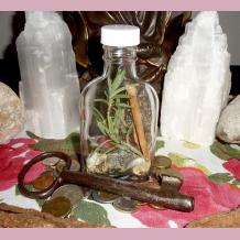 Miss Melinda's Witch Bottle for Money & Prosperity
